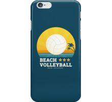 Beach volleyball  iPhone Case/Skin