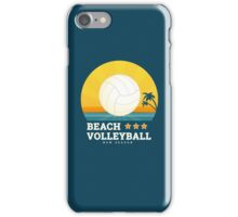 Beach volleyball  iPhone Case/Skin