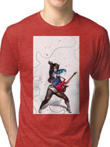 Guitar Player Tri-blend T-Shirt