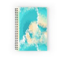 Geometric Archipelago Spiral Notebook