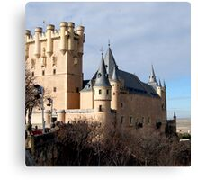 SEGOVIA CASTLE Canvas Print
