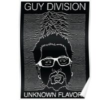 Guy Division - Unknown Flavors Poster