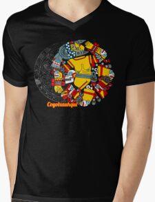 Coyolxauhqui Mens V-Neck T-Shirt