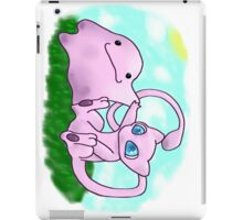 mew and ditto iPad Case/Skin