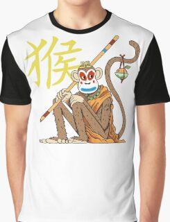 Monkey King Graphic T-Shirt
