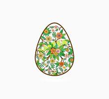 Easter egg Women's Fitted V-Neck T-Shirt