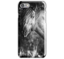 Garcia No. 2-Pryor Mustangs bw iPhone Case/Skin