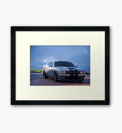 Dodge Challenger RT 'Modern Muscle' 3a Framed Print