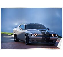 Dodge Challenger RT 'Modern Muscle' 3a Poster