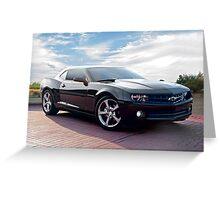 Chevrolet Camaro 'Modern Muscle' 2b Greeting Card