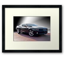 Chevrolet Camaro 'Modern Muscle' 2a Framed Print