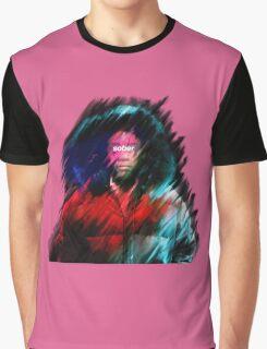 "Smear CamPaint: Childish Gambino ""Sober"" Graphic T-Shirt"