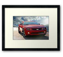 Chevrolet Camaro 'Modern Muscle' 1b Framed Print
