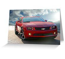 Chevrolet Camaro 'Modern Muscle' 1b Greeting Card