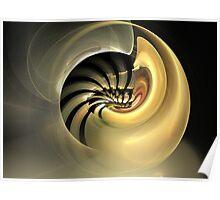 Golden Mollusk Poster