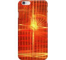 Red Sun Canopy iPhone Case/Skin