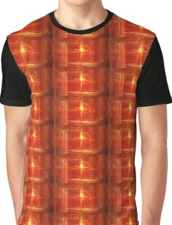 Red Sun Canopy Graphic T-Shirt