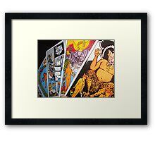 The Tarot Framed Print