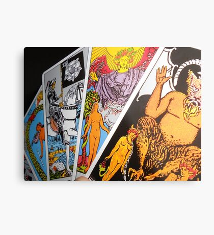 The Tarot Metal Print