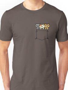 Neko Atsume Pocketed Unisex T-Shirt