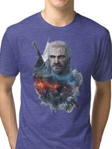 the witcher 3 wild hunt geralt of rivia #1 Tri-blend T-Shirt