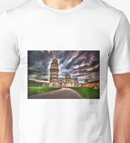 Leaning Tower of Piza.  T-Shirt