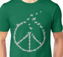 Peace - Let's fly together Unisex T-Shirt