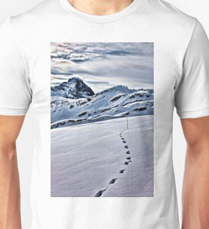 Footprints. T-Shirt