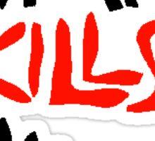 WAR KILLS Sticker