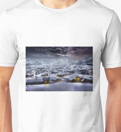 Village by night. T-Shirt