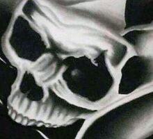 Flower of Death Sticker
