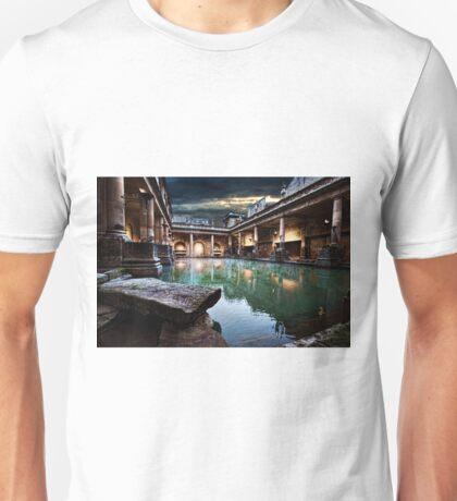 Roman Bath house.  T-Shirt
