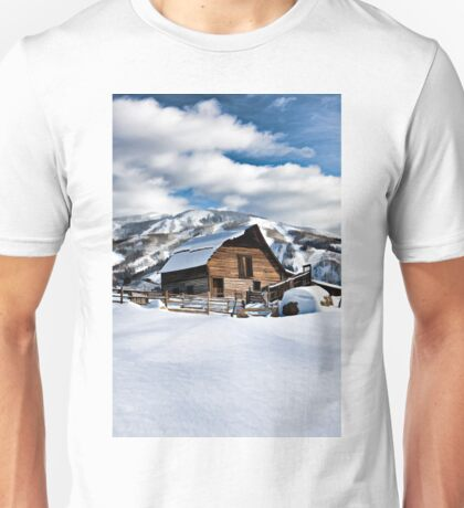 Steamboat's cabin.  T-Shirt