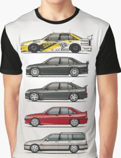 Stack of Opel Omegas / Vauxhall Carlton A Graphic T-Shirt
