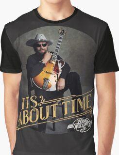 hank williams jr Graphic T-Shirt
