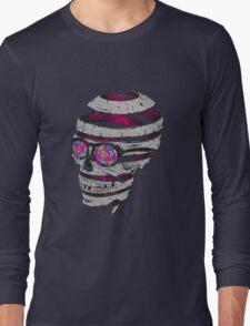 Trippy Skull Long Sleeve T-Shirt