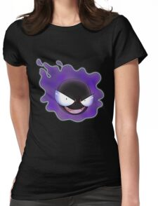 Ghost Types - Gastly - Purple Pattern Womens Fitted T-Shirt