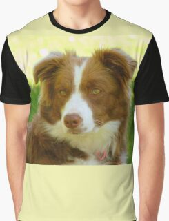 Agility & Intensity Are My Middle Names!! - Border Collie - NZ Graphic T-Shirt