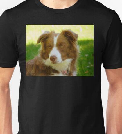 Agility & Intensity Are My Middle Names!! - Border Collie - NZ Unisex T-Shirt