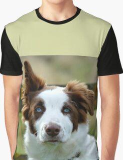 I'm Listening! - Border Collie - NZ Graphic T-Shirt