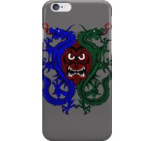 Dragons Outlining Monster Face iPhone Case/Skin