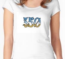 350 chrome style Women's Fitted Scoop T-Shirt