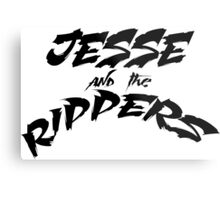 Jesse and the Rippers black Metal Print