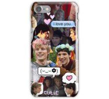 Merthur Collage (BBC Merlin) iPhone Case/Skin