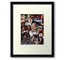 Merthur Collage (BBC Merlin) Framed Print