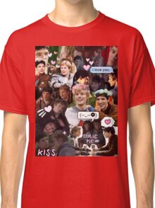Merthur Collage (BBC Merlin) Classic T-Shirt