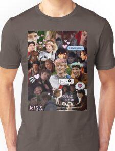 Merthur Collage (BBC Merlin) Unisex T-Shirt