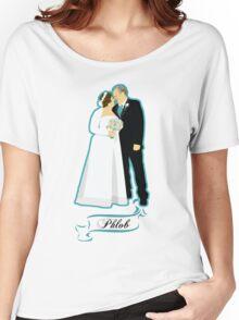 Phlob - Text Women's Relaxed Fit T-Shirt