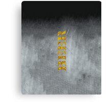 Beer (Metal) Canvas Print