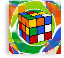 Rubik's Cube 2 Canvas Print